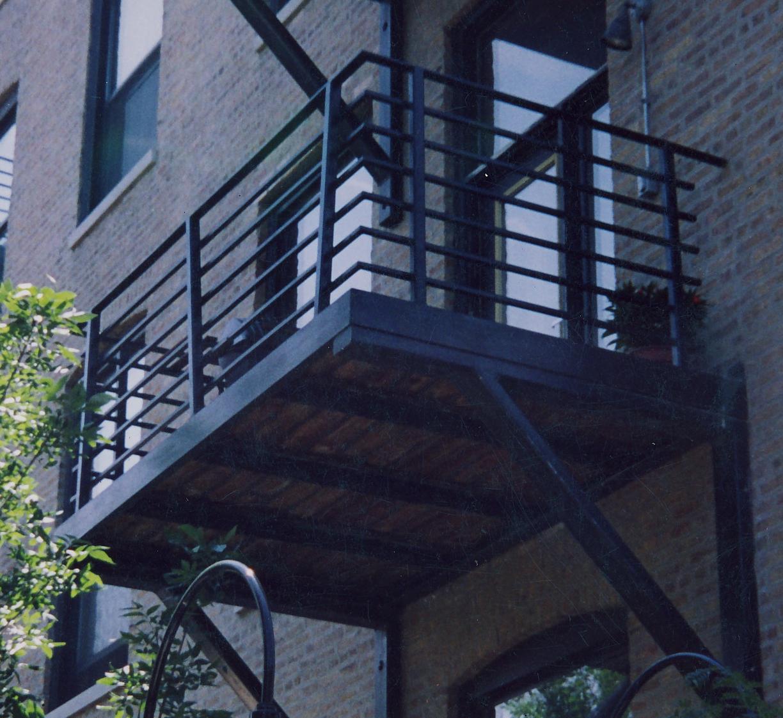 Balcony Plain