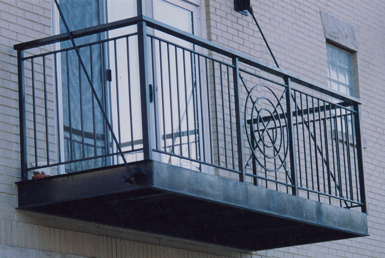 Balconies em iron works corp for Balconies or balconies
