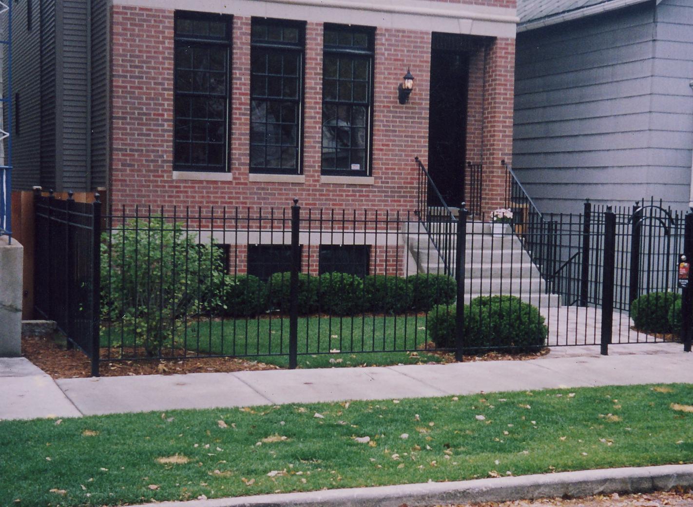 Fron Fence with Door