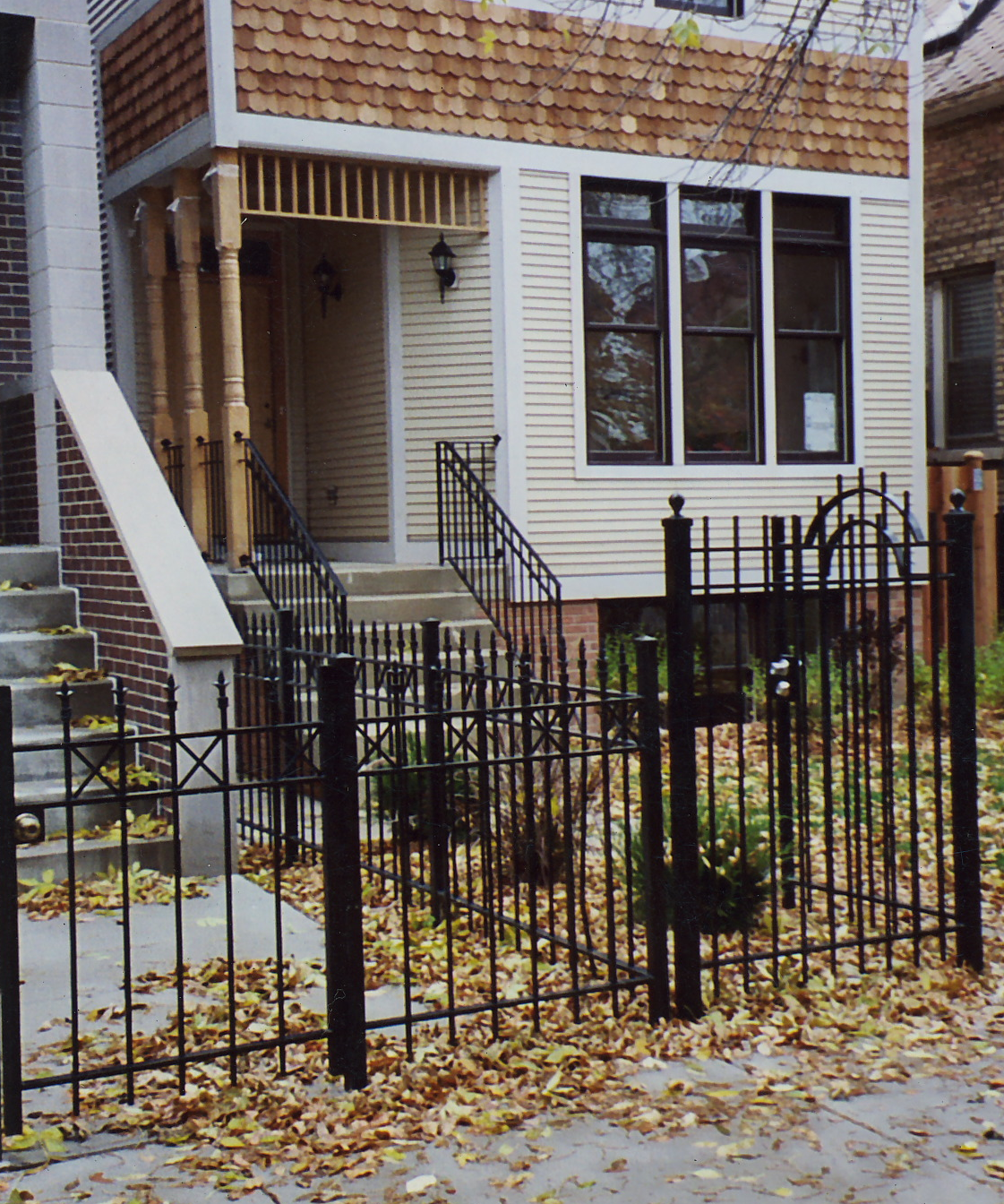 Front Fence and Railing